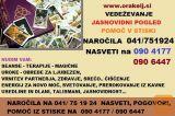 JASNOVIDNI POGED - UROKI-OBREDI -POMOČ V STISKI NA 0904177
