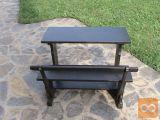 Lepa in uporabna lesena miza za otroke naprodaj