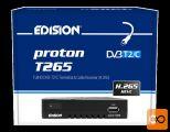 EDISION PROTON T265 DVB-T2/C H.265 (HEVC) sprejemnik