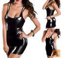 latex obleka