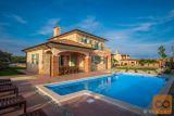 Krk- luksuzna kamena vila s bazenom! (k881)