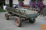 prodam starinski voziček za vprego, lepo ohranjen