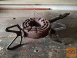 Plinski gorilnik in žar plošča