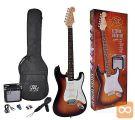SX SE1SK-3TS Električna kitara električne kitare komplet set