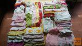 Oblačila za dojenčico, št. 56-74, rojeno v poletju