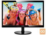 """PHILIPS 246V5LHAB V-line 61cm (24"""") FHD WLED zvočniki LCD"""
