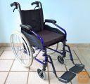 Invalidski voziček, z dodatnima zavorama + blazina