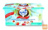 Kokosov jogurt jagoda, brez glutena, 2x125 g