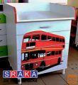 Previjalna miza, predalnik SRAKA Avtobus