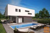 Malinska, okolica - Nova moderna vila sa bazenom! (k672)