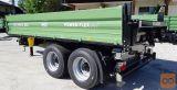 Traktorska prikolica, Brantner TA 14045 / 2 XXL - gradbena
