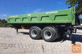Traktorska prikolica,tandem, Brantner TA 18045/2 XXL