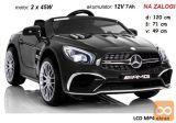 Mercedes SL65 LCD MP4 (črn)